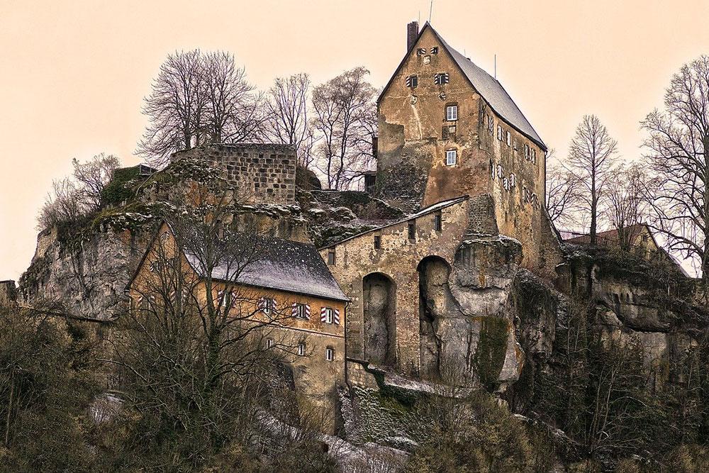 Fränkische Schweiz Burgruine Pottenstein | Bild: Pixabay | Copyright: Wolfgang Eckert