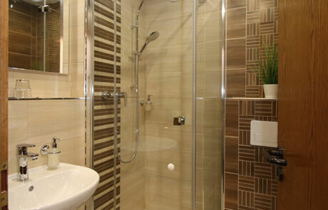 Bad im Einzelzimmer
